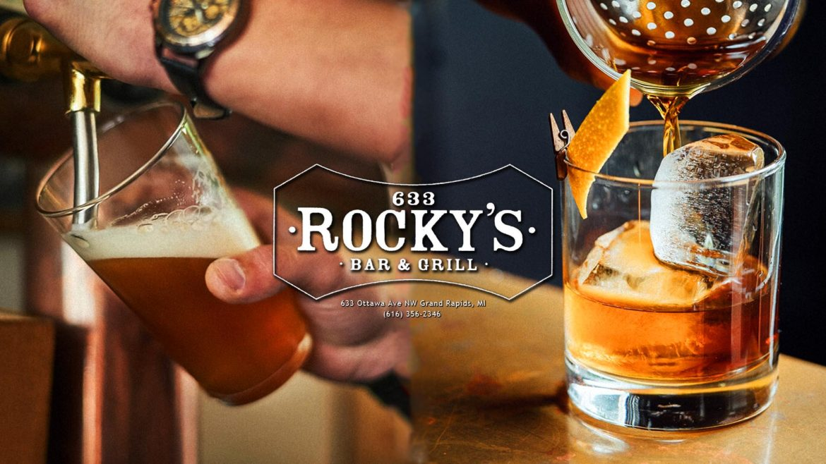 About Rocky's Bar & Grill in Downtown Grand Rapids, MI